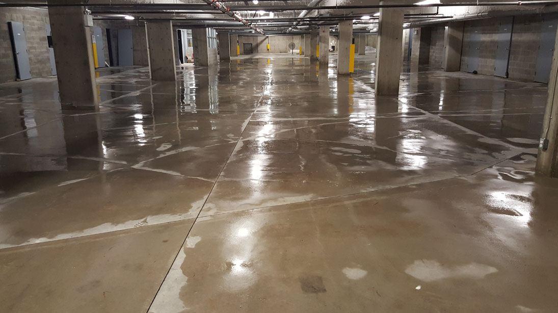 Parking Garage Pressure Washing Maple Ridge BC